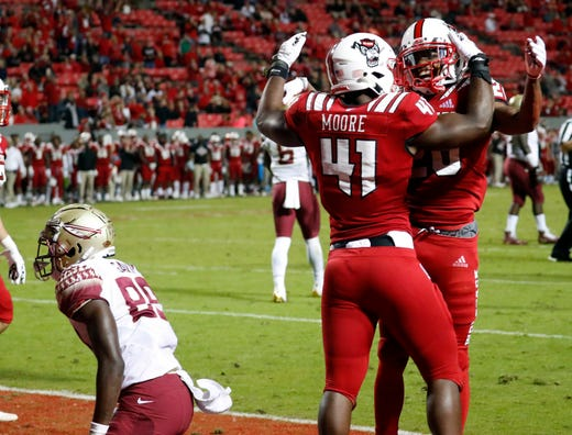 14. NC State (6-2) | Last game: Defeated Florida State, 47-28 | Previous ranking: NR