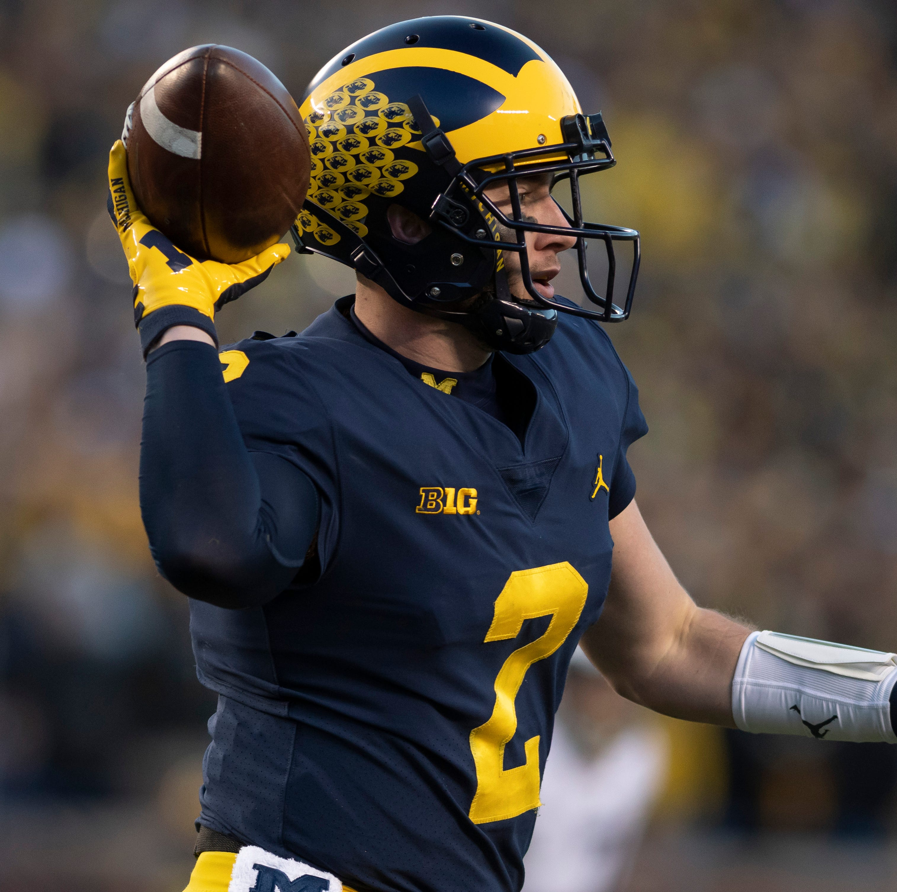 Patterson's Big House adieu? Michigan QB won't go there