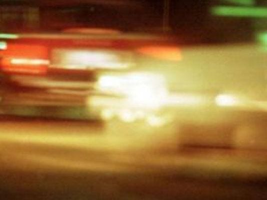 An overnight crash on Interstate 94 has left a man in critical condition after his car burst into flames early Friday as he was exiting the highway, officials said.