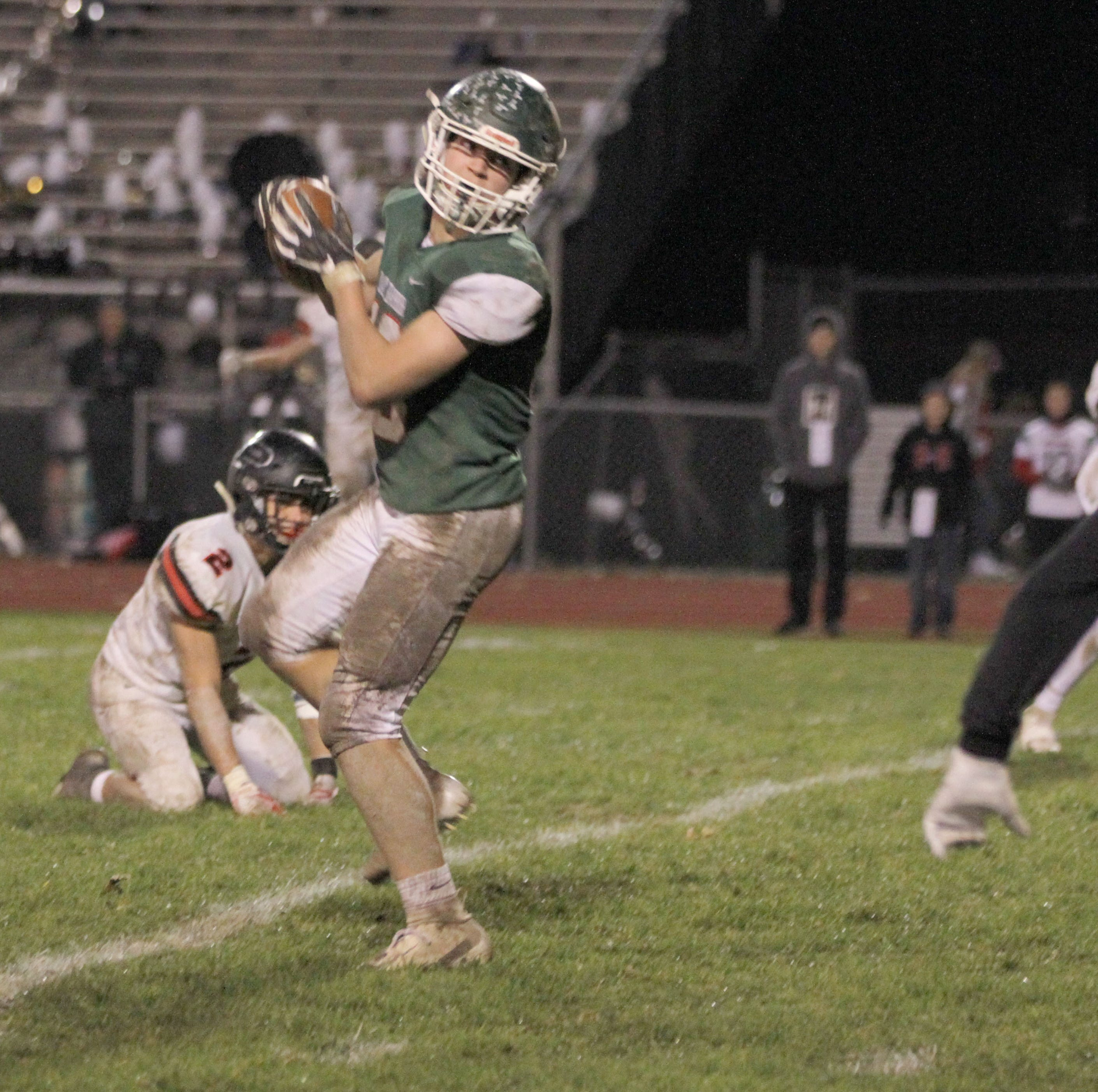 Game Changer: Oak Harbor linebacker Ridener has two touchdowns on three catches