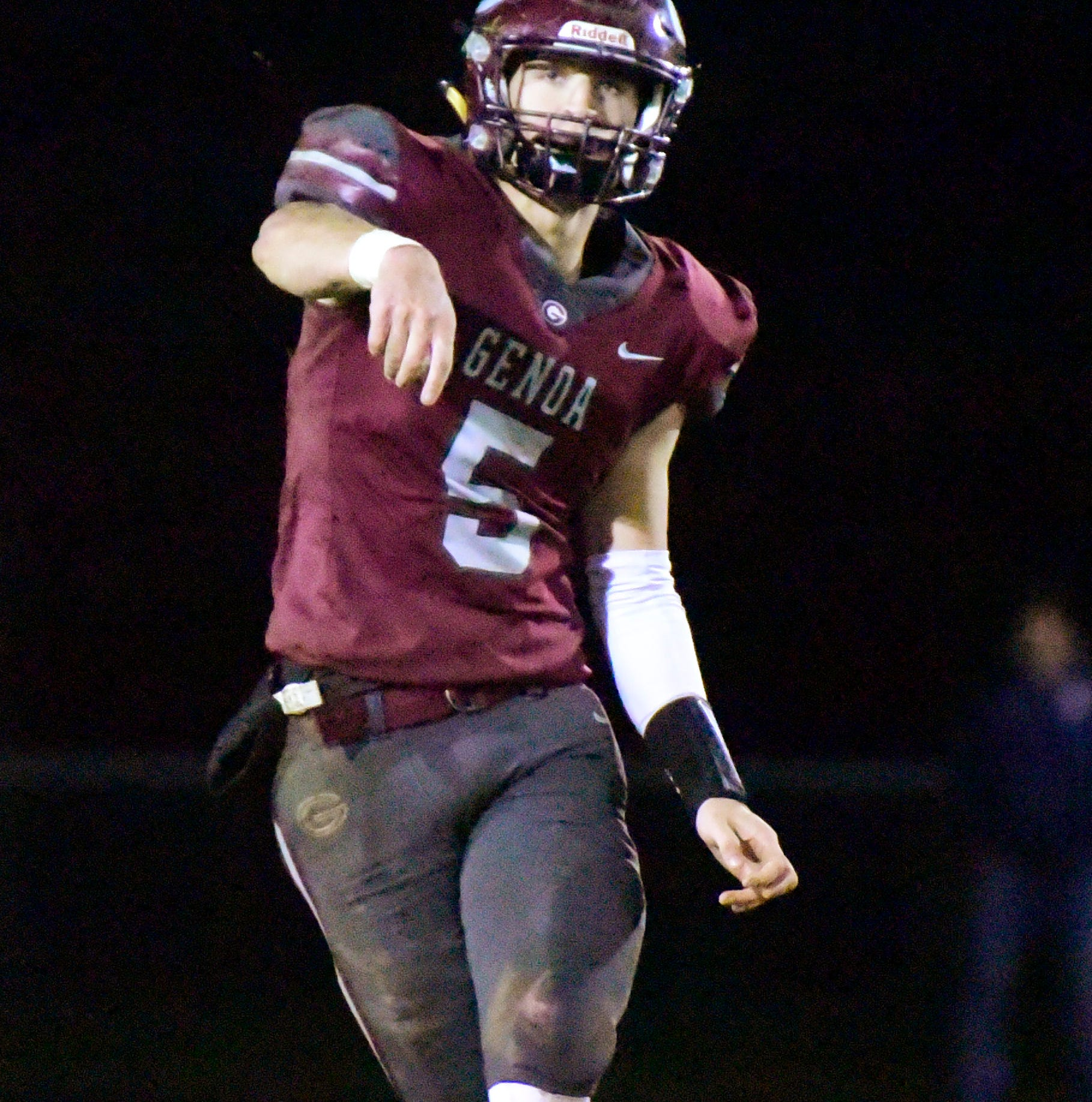 Genoa's Plantz Messenger/Herald player of the year on offense
