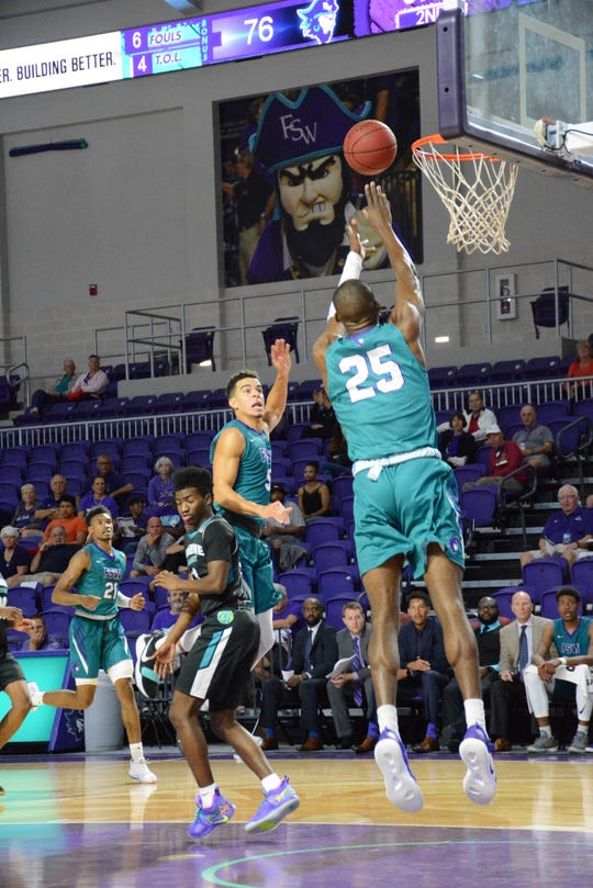 Simeon Kirkland has been a big contributor for the FSW men's basketball team in the front court.