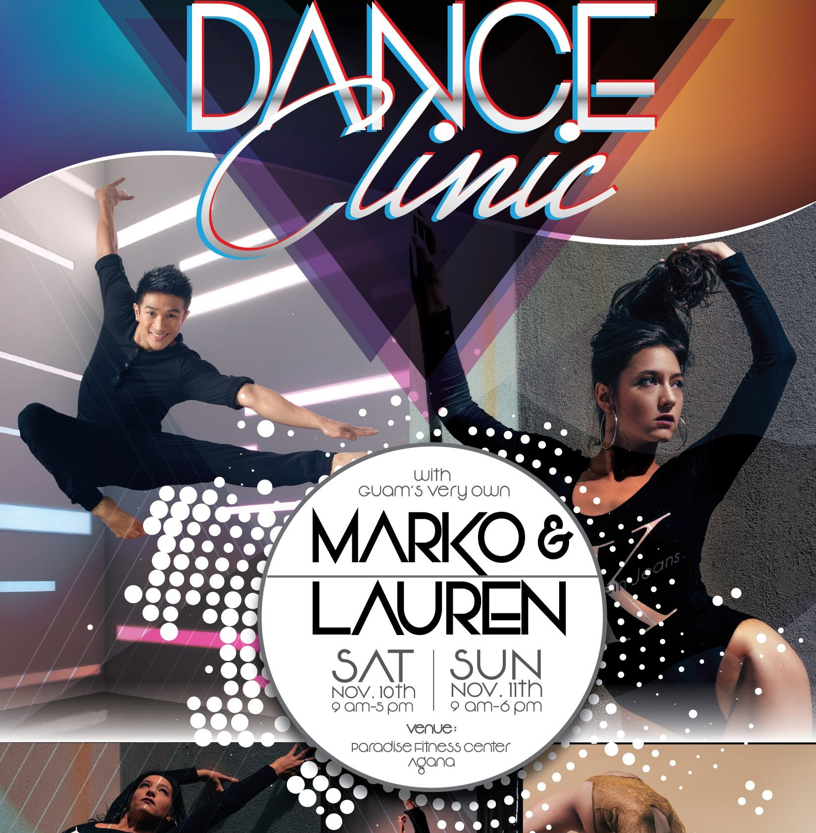 Professional dancers Lauren Santos,Marko Germar to hold 2-day clinic