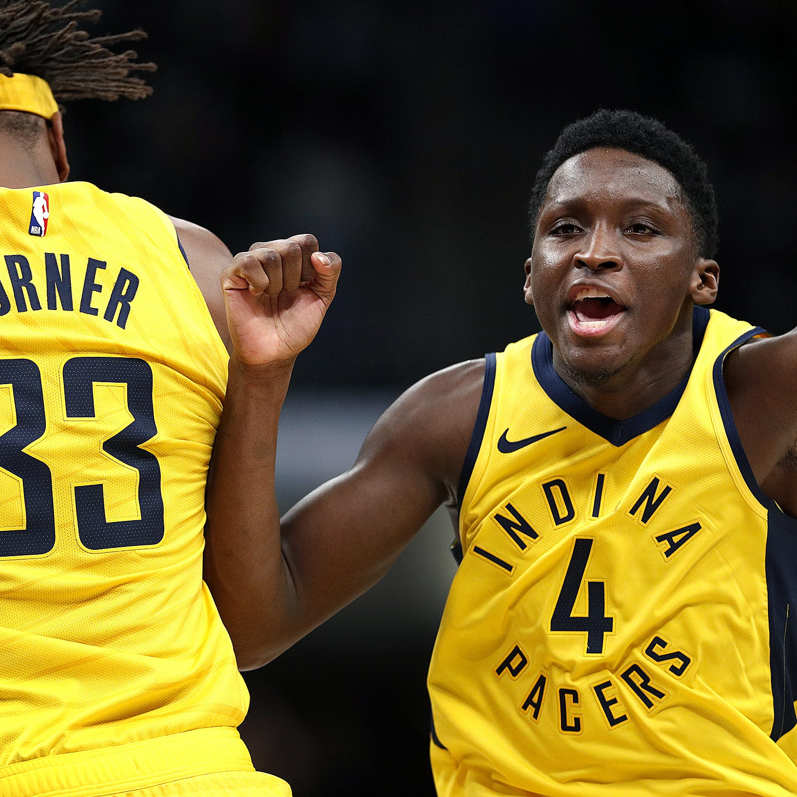 Victor Oladipo offers impassioned defense of Myles Turner after tough night