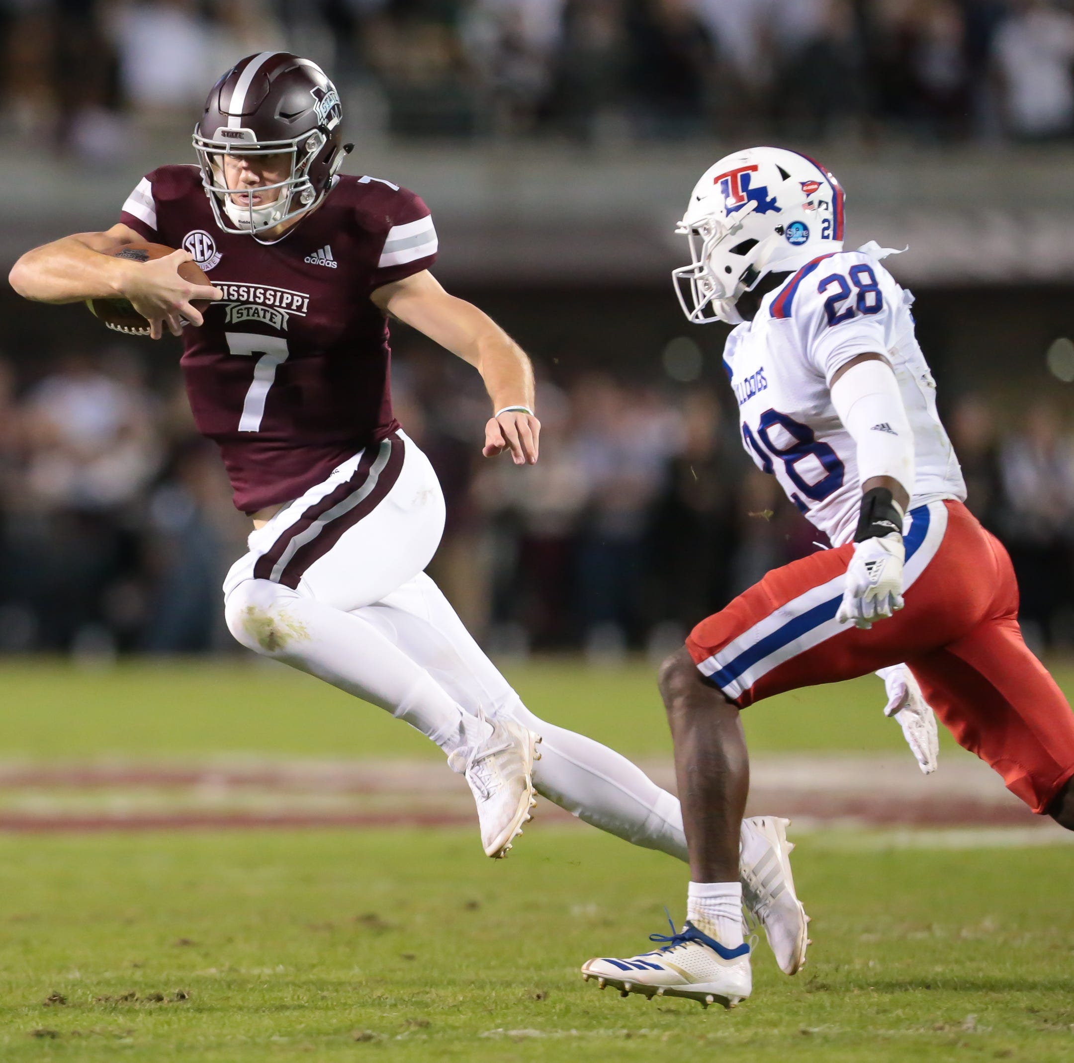 Mississippi State quickly shifts focus to Alabama after blowing out Louisiana Tech