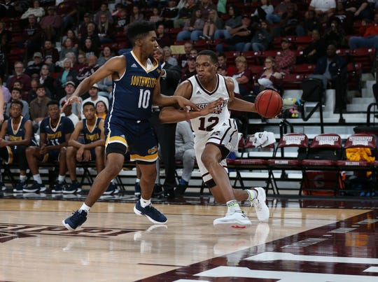 Freshman guard/forward Robert Woodard had 10 points in Mississippi State's 88-57 exhibition game victory over Georgia Southwestern State.