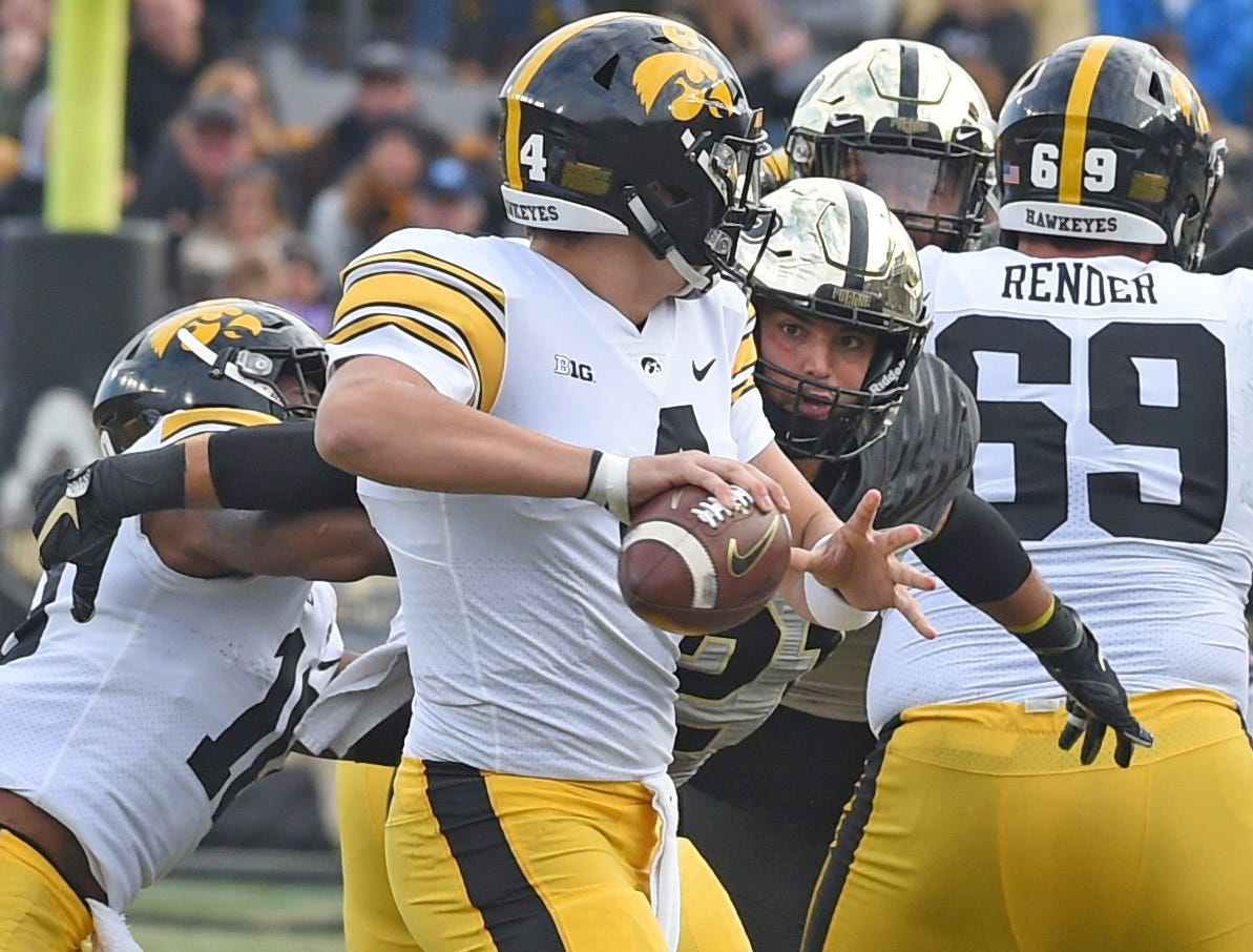 Fans had a picture perfect football afternoon Saturday as the Boilers defeated the Iowa Hawkeyes.