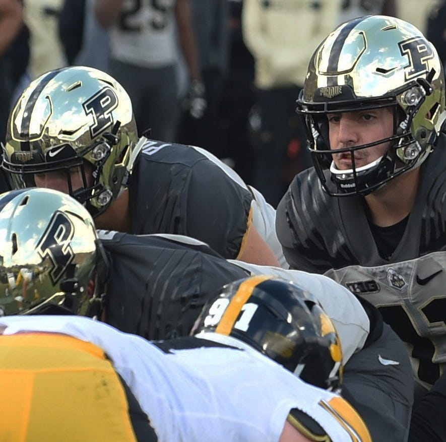 Fans had a picture perfect football afternoon Saturday as the Boilers defeated the Iowa Hawkeyes. David Blough