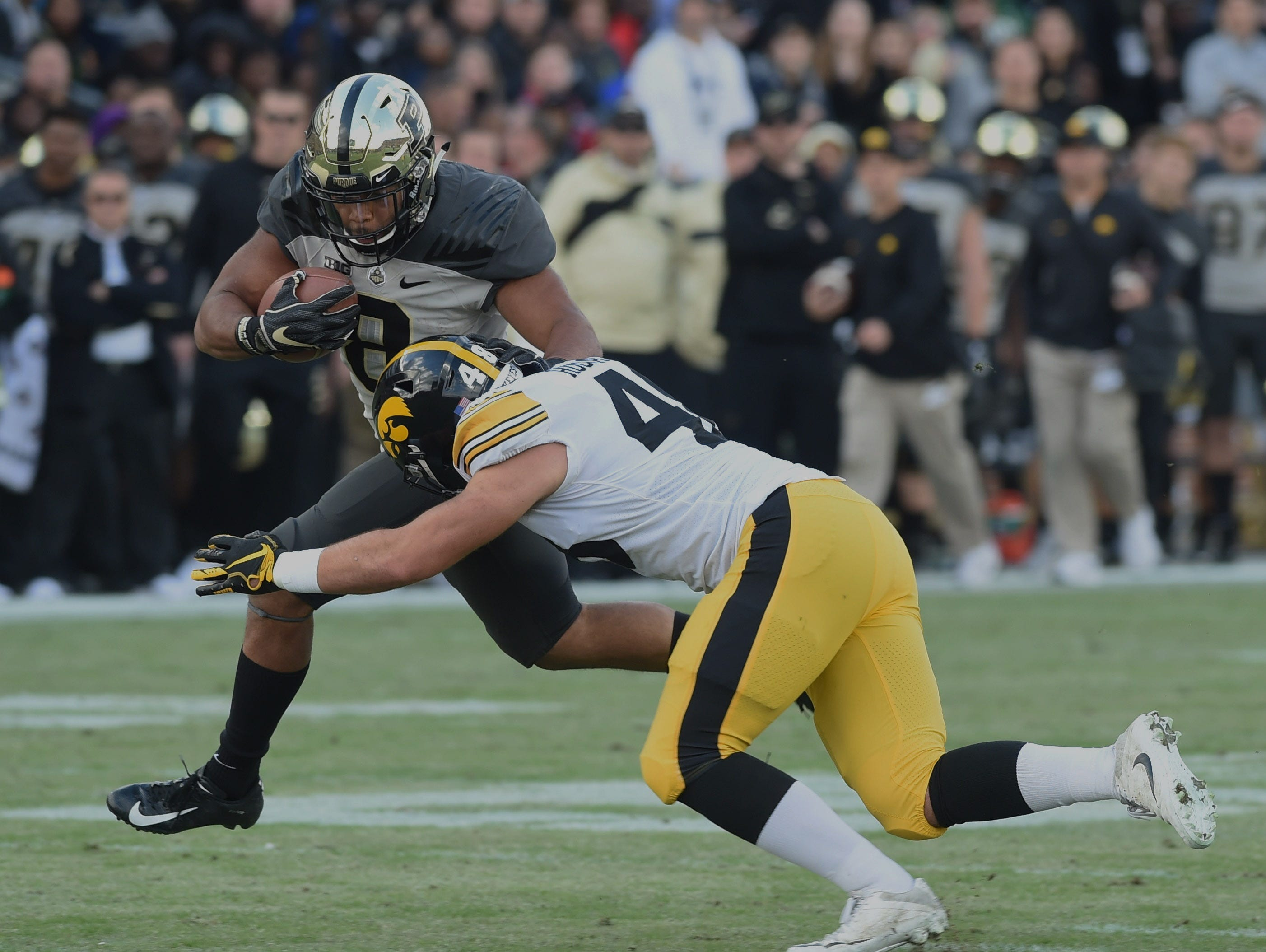 Fans had a picture perfect football afternoon Saturday as the Boilers defeated the Iowa Hawkeyes. Markell Jones