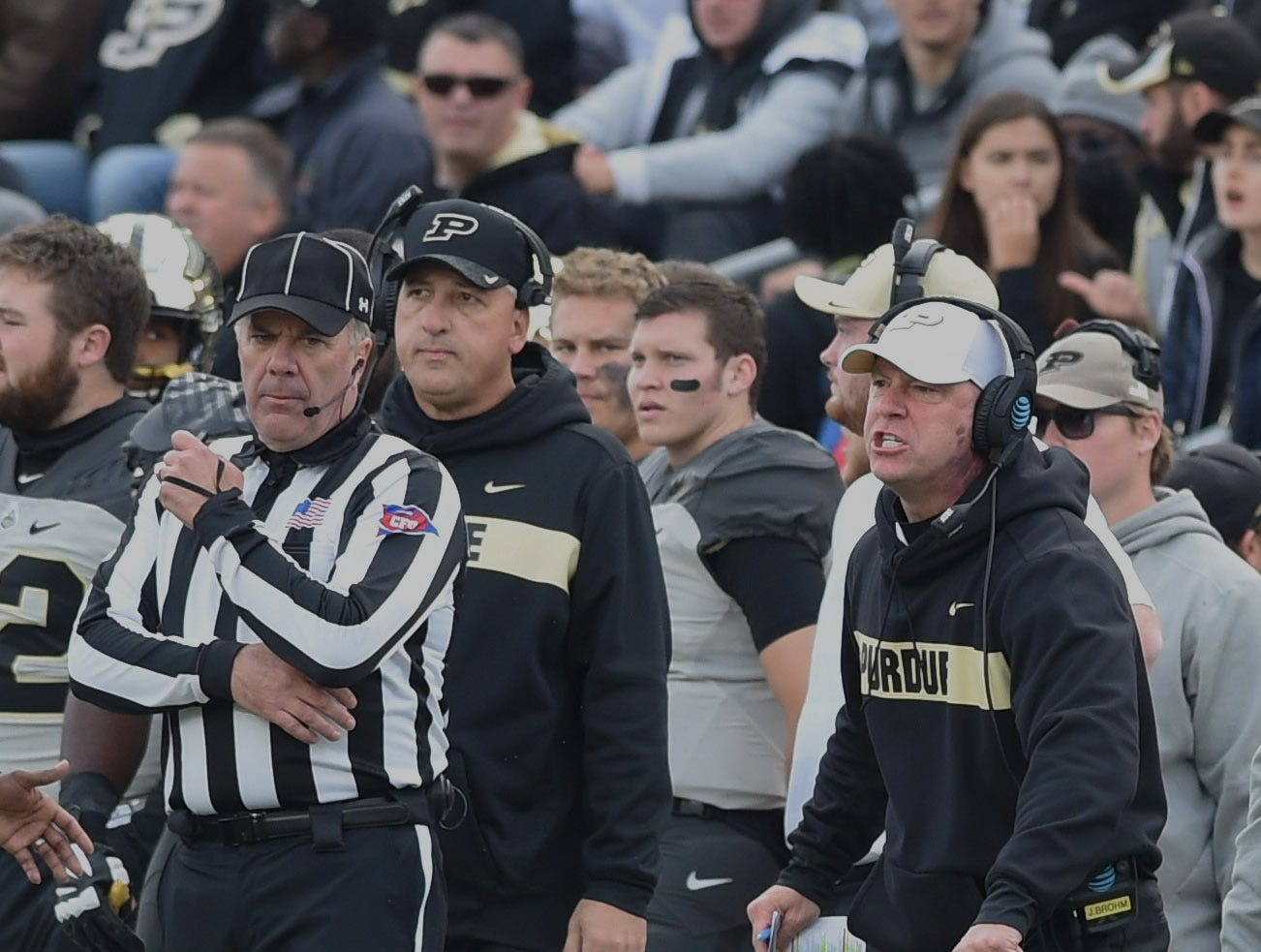 Fans had a picture perfect football afternoon Saturday as the Boilers defeated the Iowa Hawkeyes. Jeff Brohm