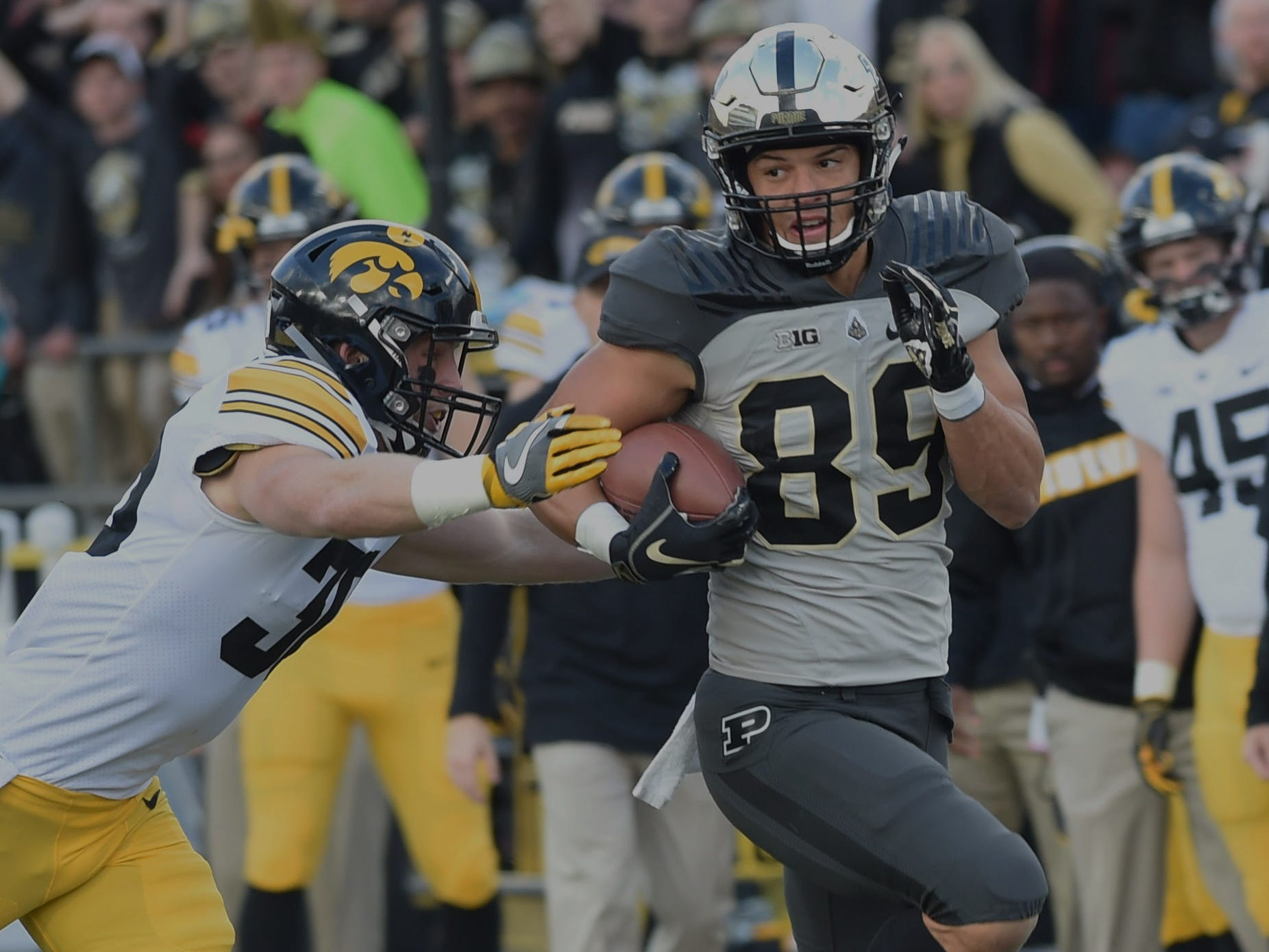 Fans had a picture perfect football afternoon Saturday as the Boilers defeated the Iowa Hawkeyes. Brycen Hopkins