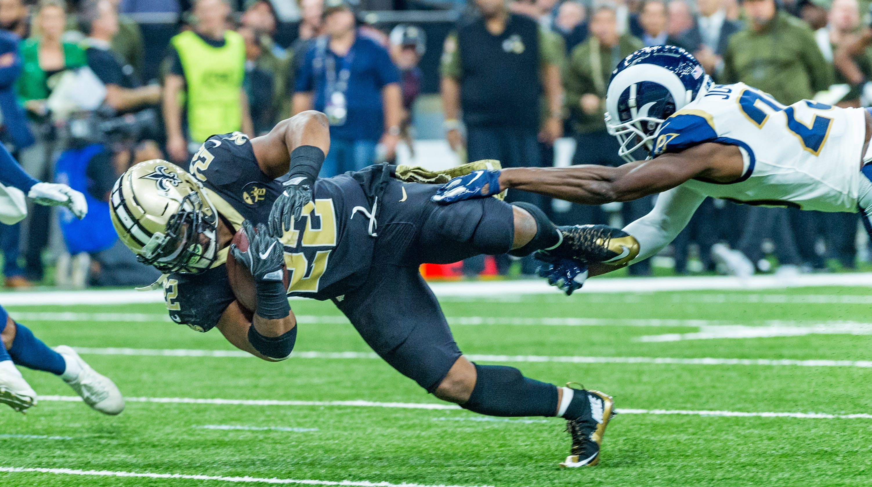 480a8df79 1 Loss Angeles - Saints knock off undefeated Rams