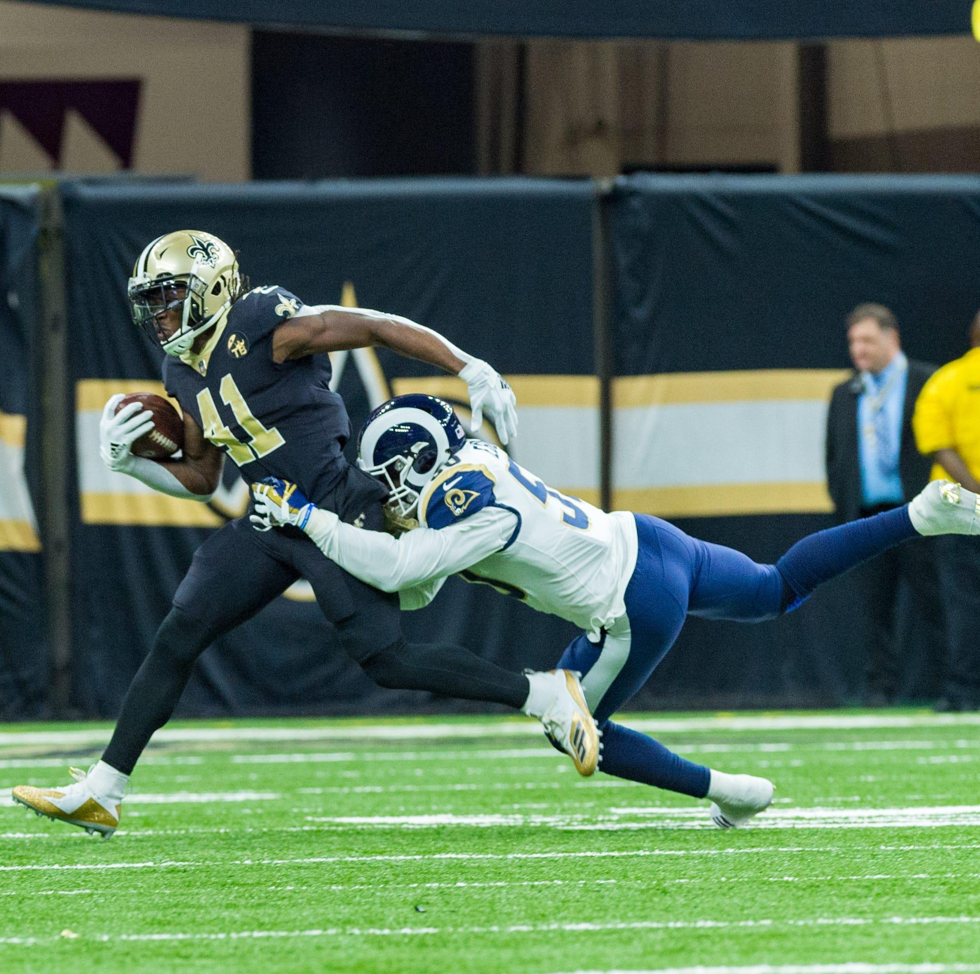 Columnist: Rams will knock the Saints 'more senseless than a frat boy on Bourbon Street'