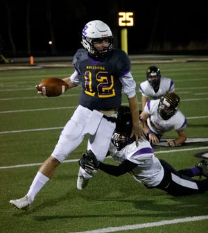 Bloom-Carroll junior quarterback Otto Kuhns is the 2018 Eagle-Gazette Offensive Player of the Year.