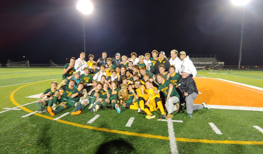 St. Xavier soccer wins state title