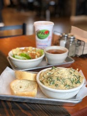 For an Italian pasta lunch, swing by Fino's in Midtown or in East Memphis.  A half pasta and side salad is just $10.