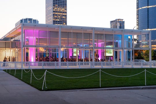 A pavilion, which was added to Discovery World as part of its renovation, is being utilized for events as well as to expedite the many field trips that take place at the science museum.