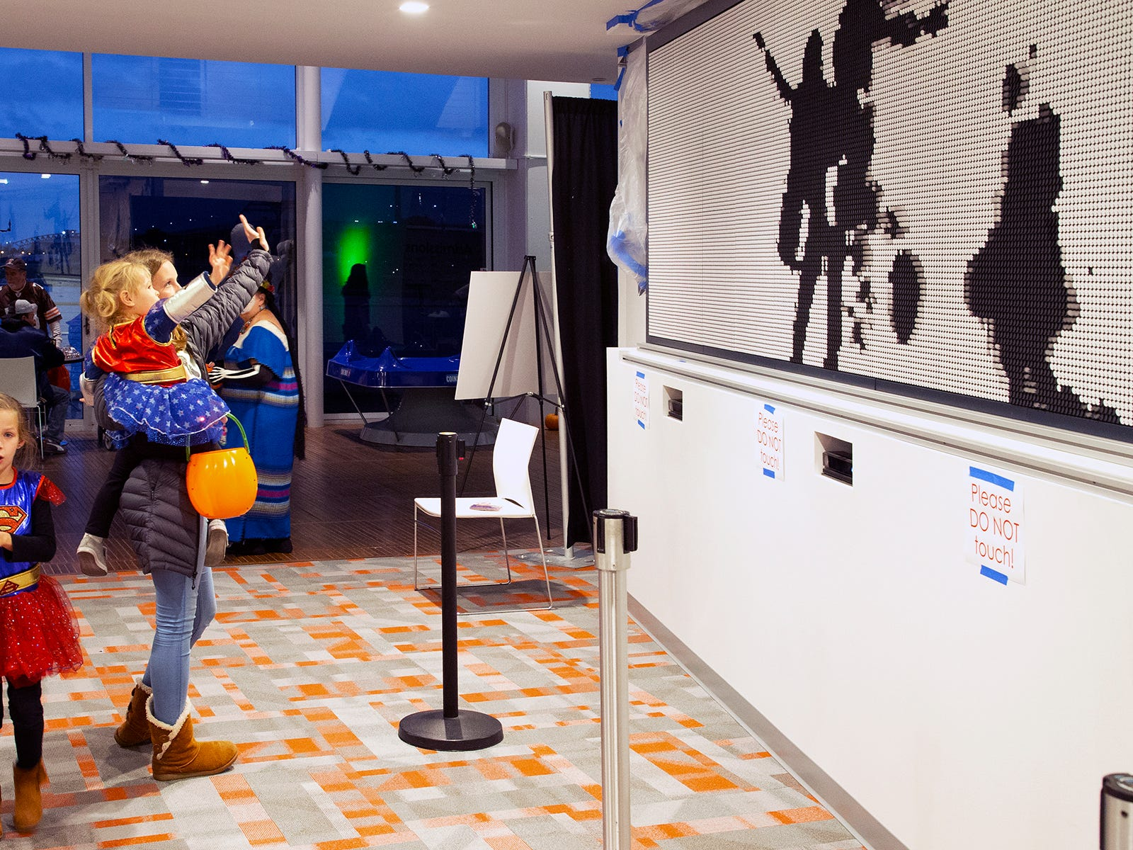 Discovery World's new exhibit teaches kids about energy. While letting them burn it off.
