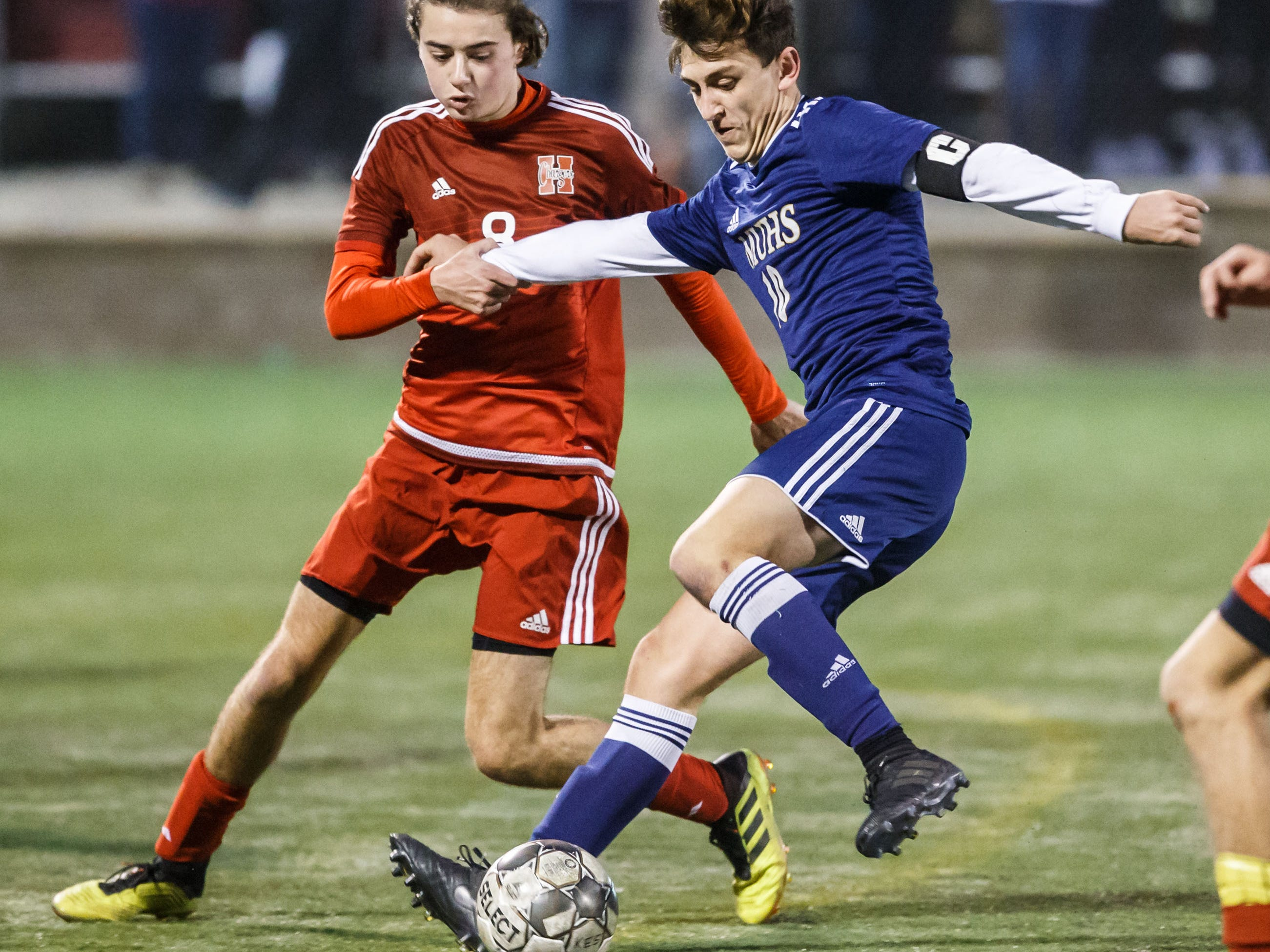 A Marquette soccer standout earns a yellow card in the state final. Consider it the price for honoring a fallen friend.