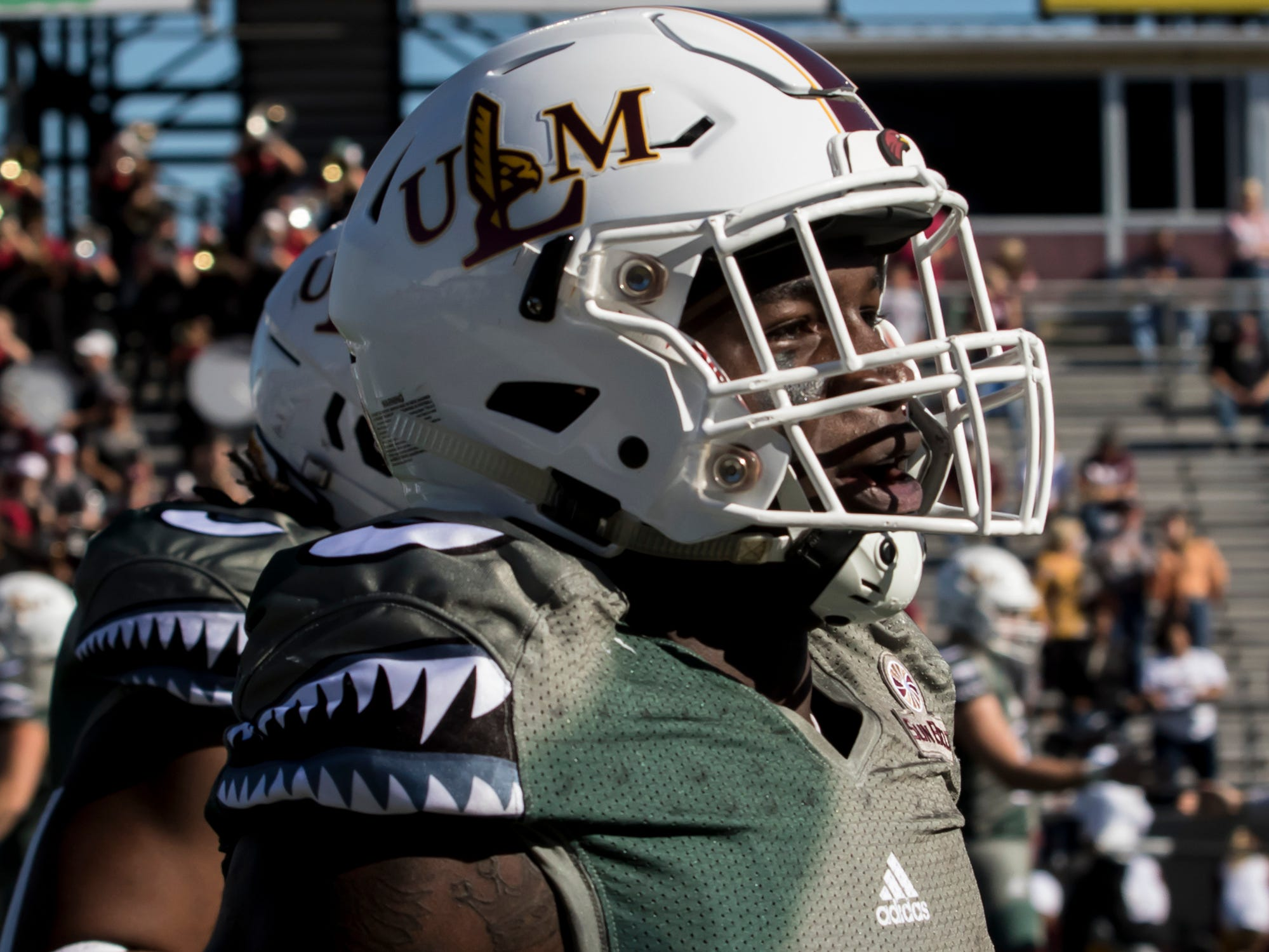 University of Louisiana at Monroe came up with a 44-25 win over Georgia Southern at Malone Stadium in Monroe, La. on Nov. 3.