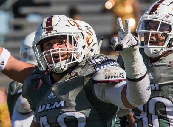 With four seniors, and possibly five if defensive tackle Jaylen Veasley returns to the team, ULM's defensive line returns more experience than any position group on defense.
