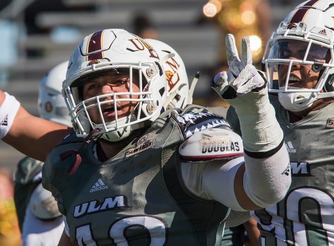 ULM's defensive front is responsible for 15 of the team's 28 sacks, a figure that ranks second in the Sun Belt Conference.