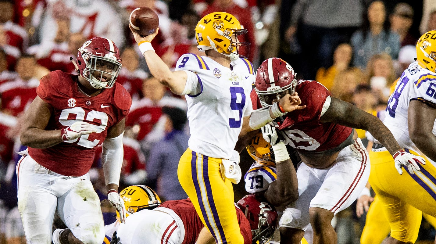 Alabama vs LSU  Final score ends in shutout loss for the Tigers 0f5a19089