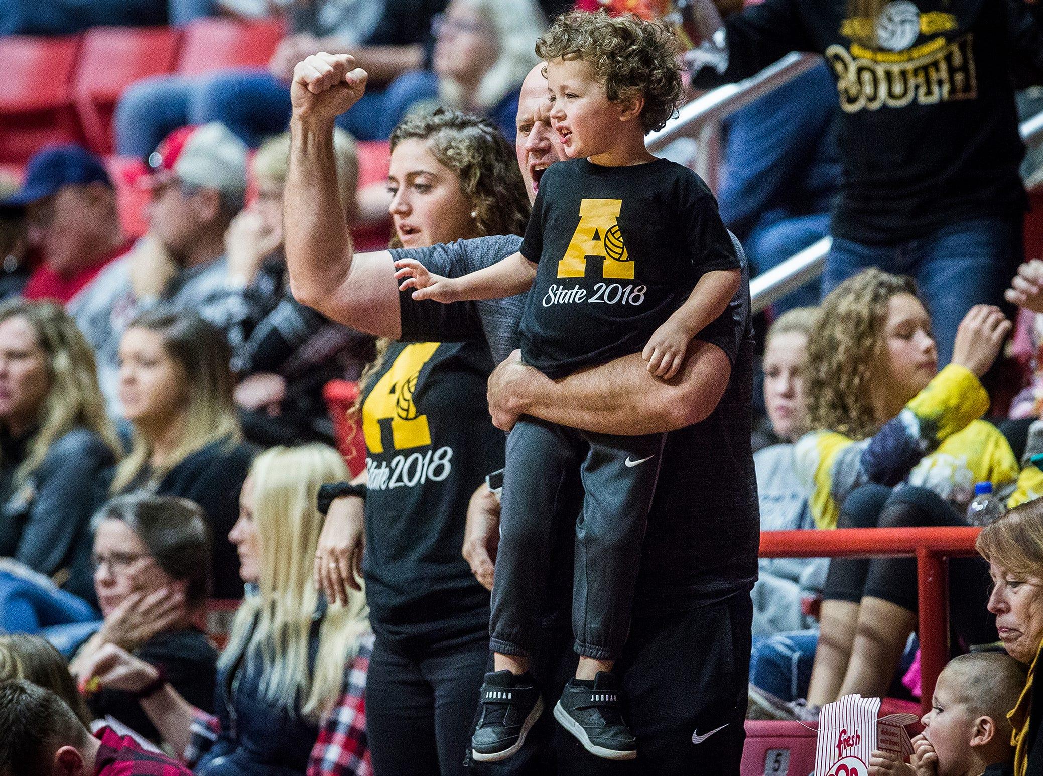 Yorktown defeated Avon 3-0 during their state final game at Worthen Arena Saturday, Nov. 3, 2018.