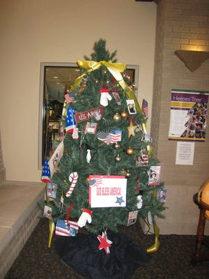 """New Castle-Henry County Public Library once again will honor those who have served in the military with """"Our Heroes' Tree,"""" which will be dedicated on November 5."""