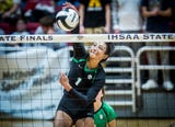 Watch the final point as Kenzie KNuckles puts down the kill to give Yorktown a Class 4A state championship.