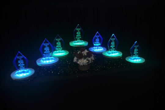 Seven major awards and 10 smaller ones were given out during the event.