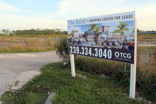 The Point, a collection of restaurants and shops, is one of the projects planned for the southeast corner of Immokalee Road and Collier Boulevard.