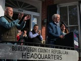 Republican challenger Bob Hugin and Democratic Sen. Bob Menendez tried to fire up supporters on the weekend before 2018's midterm elections.