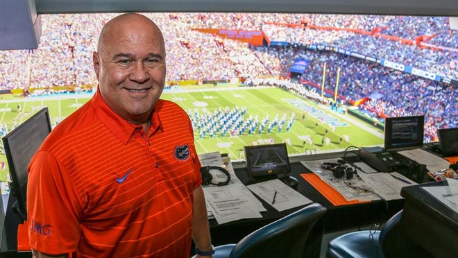 University of Florida play-by-play announcer Mick Hubert will be inducted into the Florida Sports Hall of Fame on Wednesday.