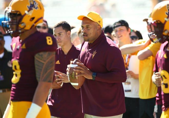 Could ASU football's Antonio Pierce become the coach of the Arizona Wildcats?