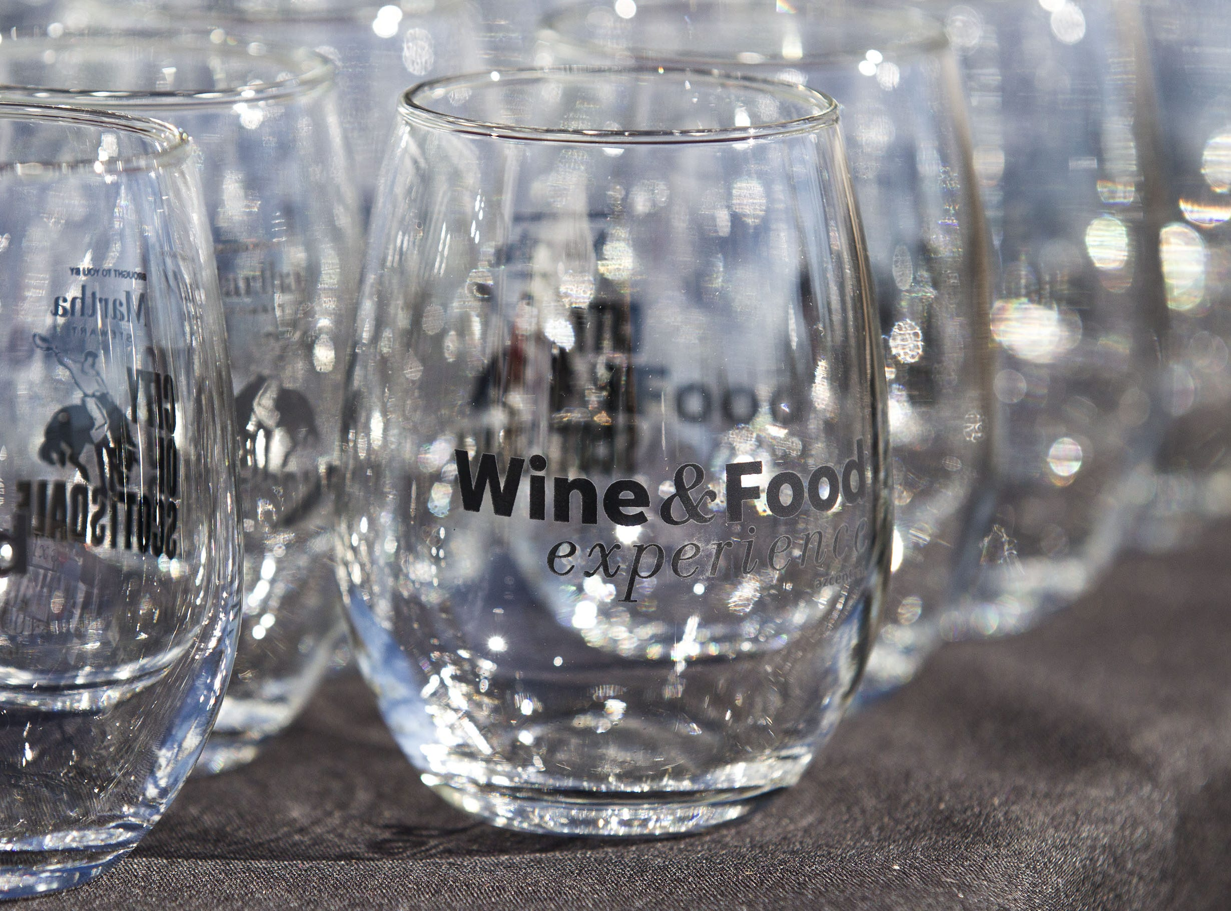 Wine glasses were aplenty during the azcentral Wine & Food Experience at WestWorld of Scottsdale, Saturday, Nov. 3, 2018.