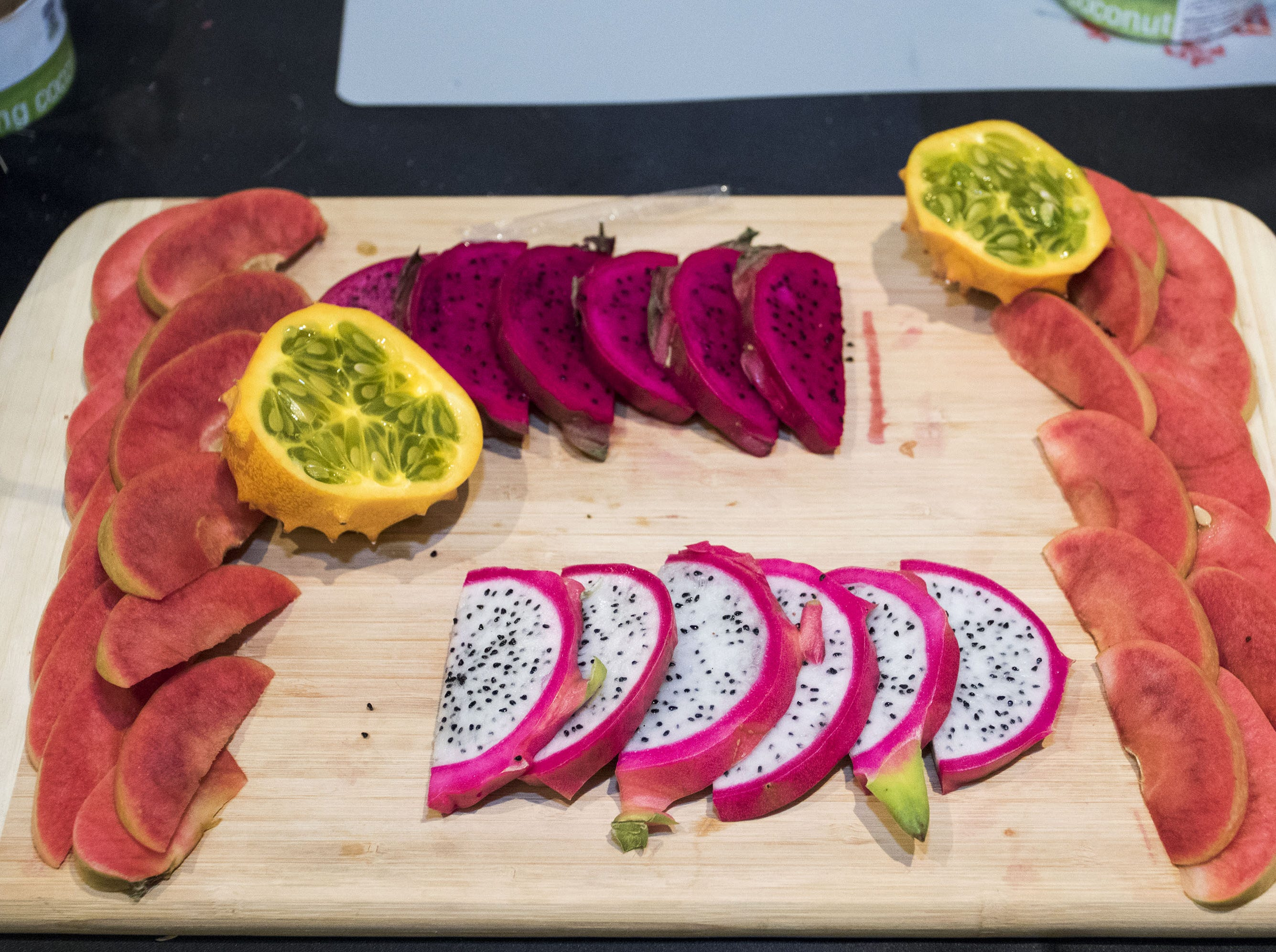 Exotic fruits were part of the VIP treatment during the azcentral Wine & Food Experience at WestWorld of Scottsdale, Saturday, Nov. 3, 2018.