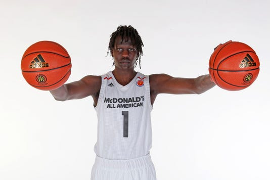 High School Basketball Mcdonalds High School All American Portrait Day