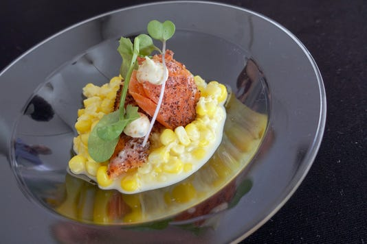 Cartwright's Modern Cuisine, salmon, 2018 azcentral Wine & Food Experience Nov. 4