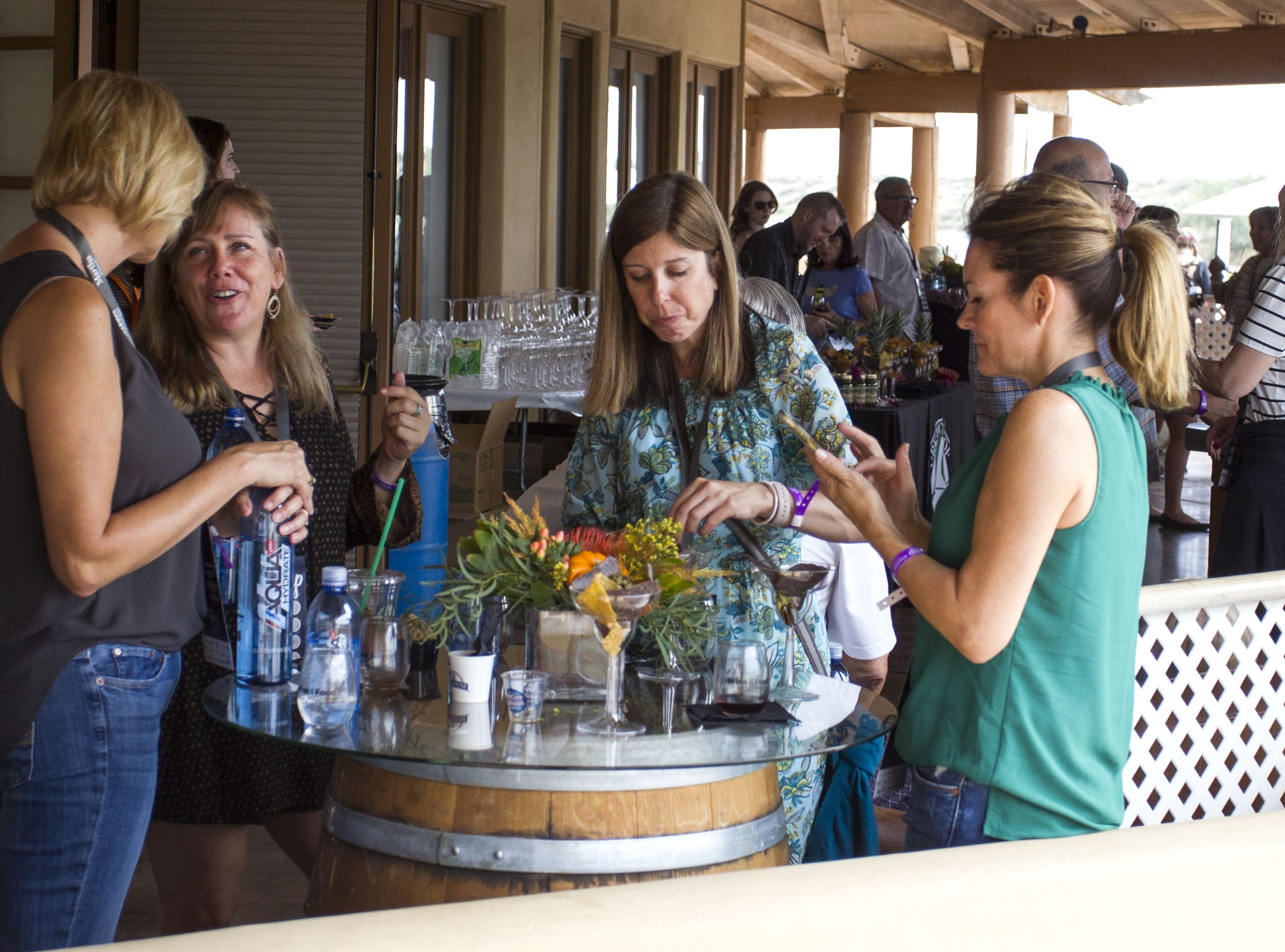 Food, wine and friends were plentiful during the azcentral Wine & Food Experience at WestWorld of Scottsdale, Sunday, Nov. 4, 2018.
