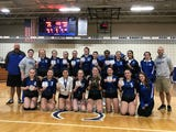 The Blazers won their fourth-straight Section 9 Class C title with a sweep on the Spartans on Sunday