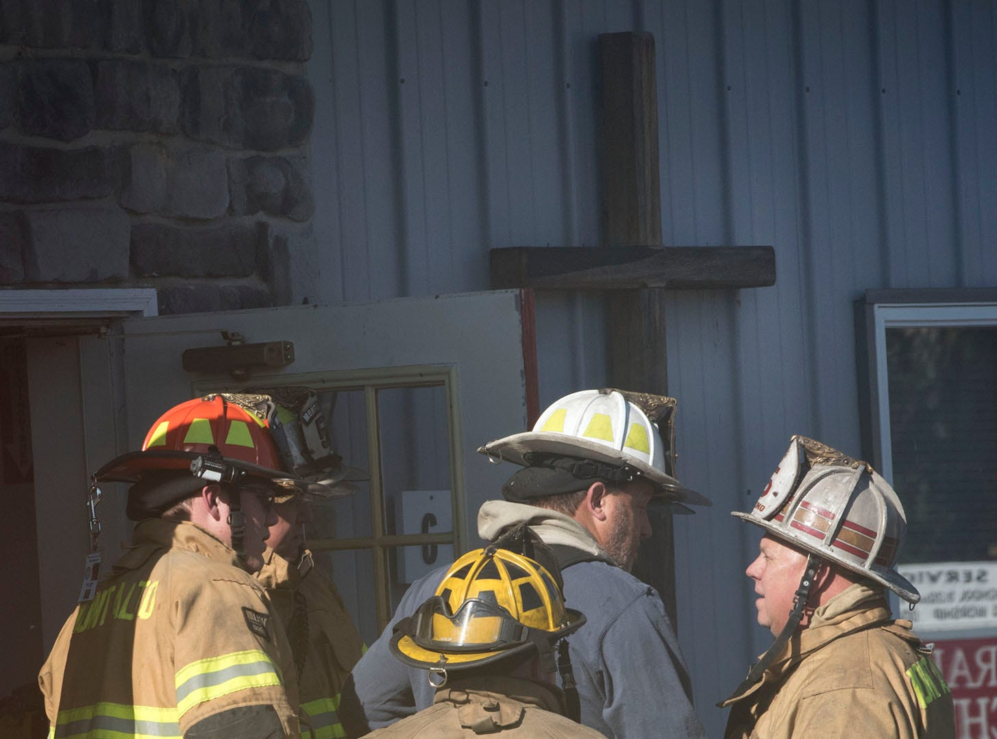 A working fire was reported just before 1 p.m. at Central Baptist Church 6025 Anthony Highway, on Sunday, November 4, 2018. The church is across the street from Mont Alto Volunteer Fire Company. No injuries were reported during the fire.