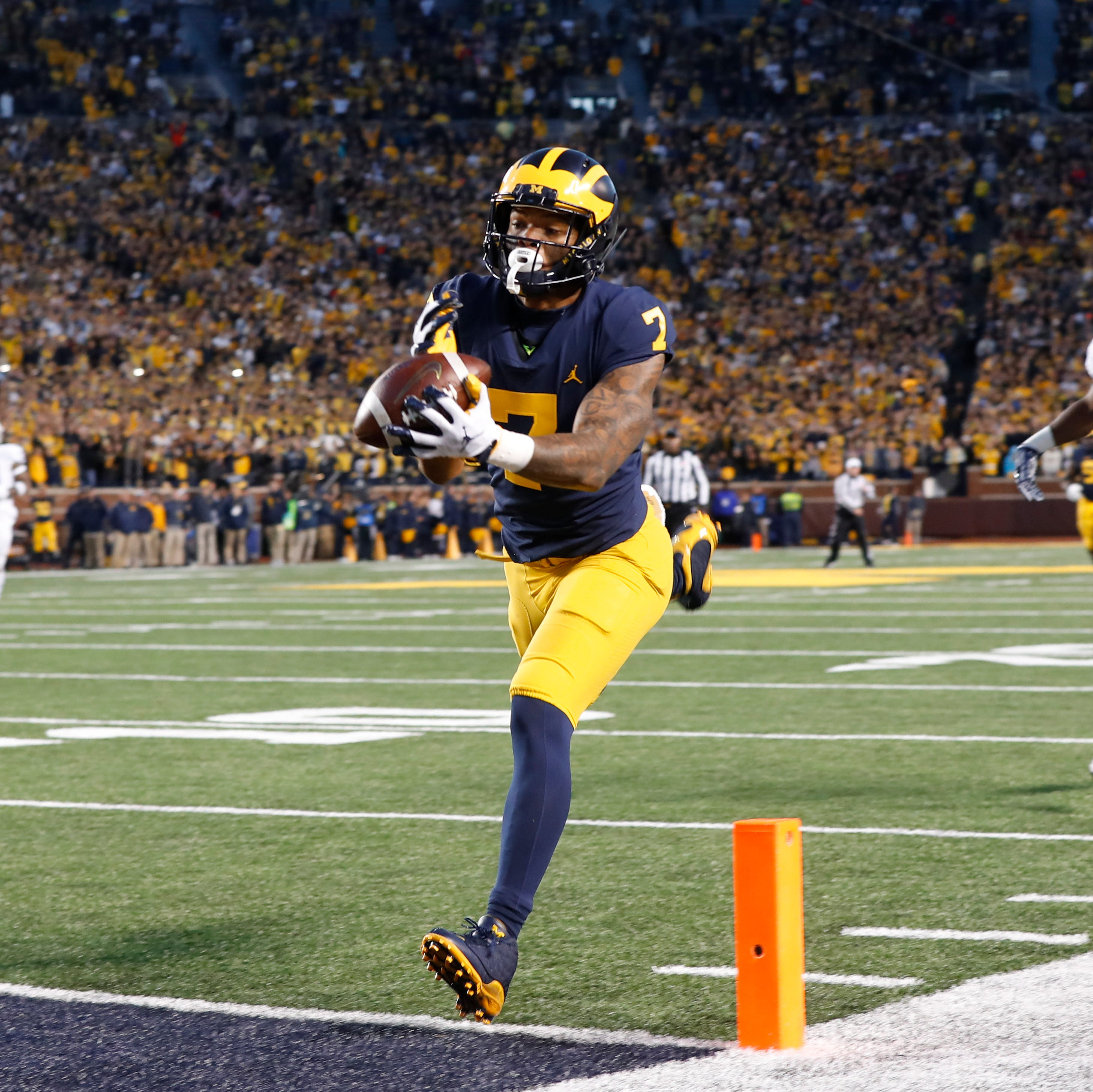 Michigan football slowly working back WR Tarik Black (foot)