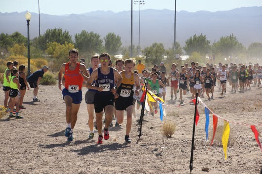 Galena sophomore Matthew Gordon won the boys 4A state cross country meet on Saturday in Boulder City.