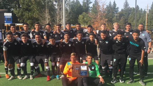 The North Valleys boys won the 3A Region championship, beating Sparks, 1-0 for the title.