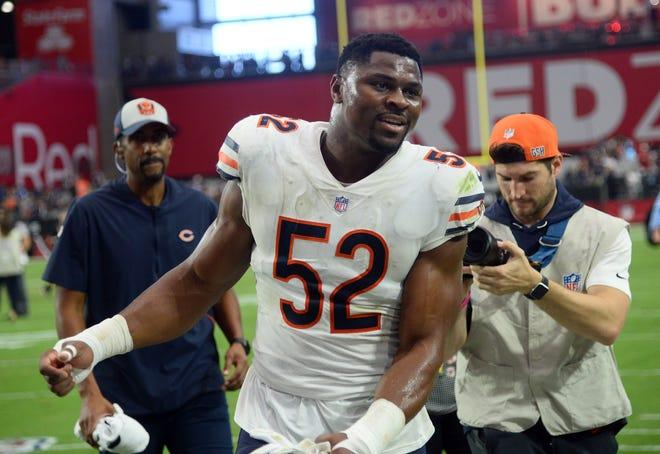 Chicago Bears linebacker Khalil Mack.