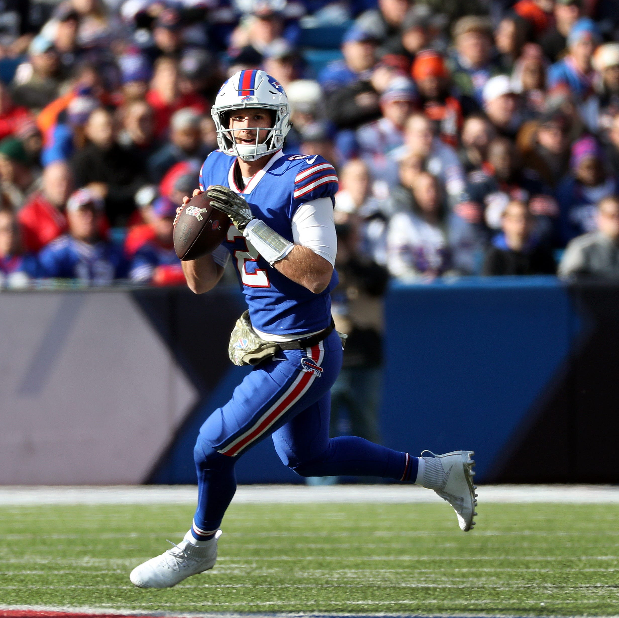 Nathan Peterman cut by Buffalo Bills