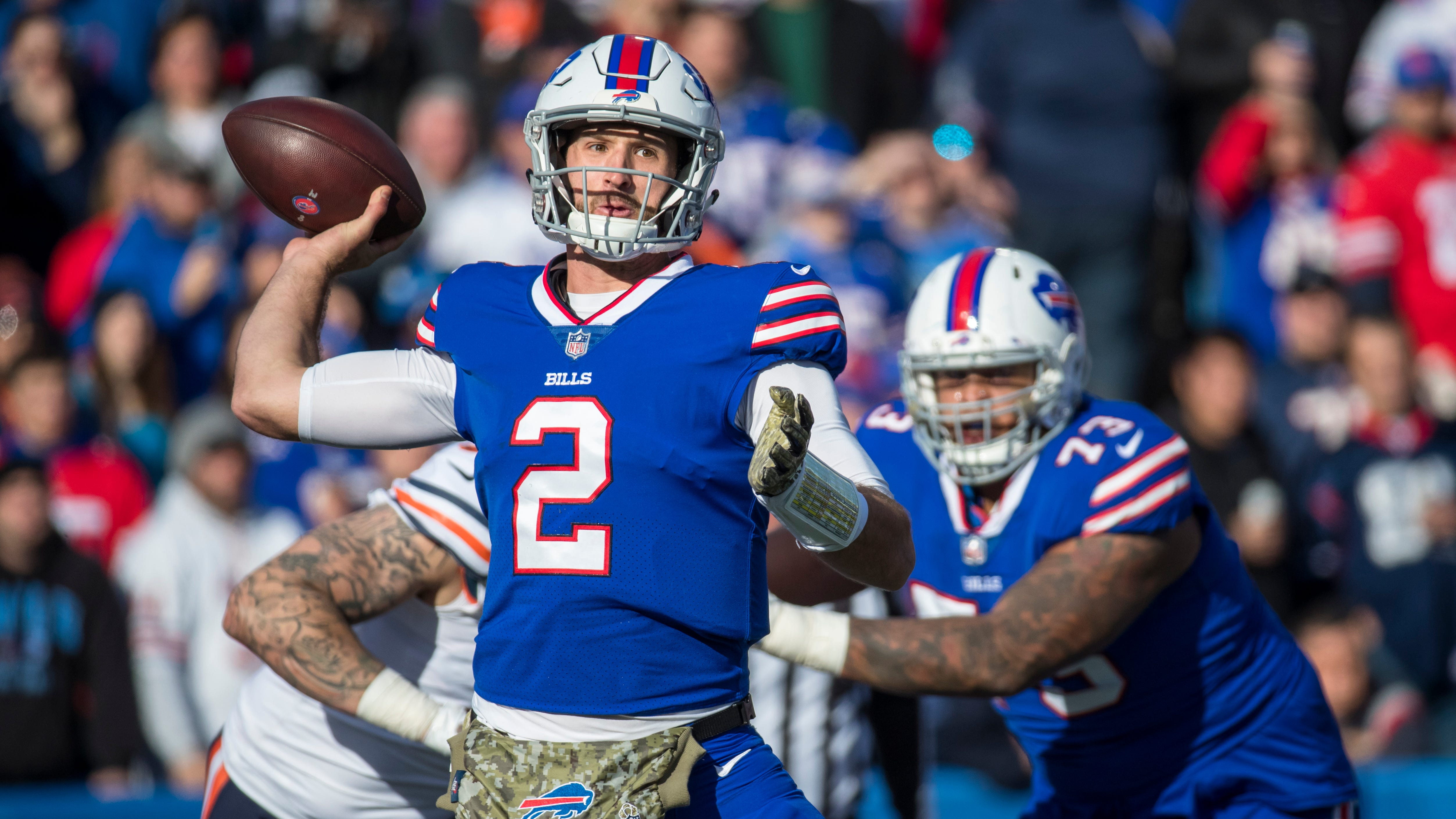 Leo Roth: 'I will miss Nathan Peterman the person'