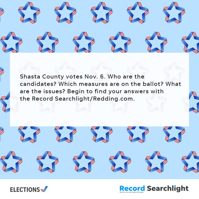 Shasta County votes