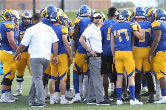 Angelo State University head football coach Will Wagner has led the Rams to a three-game winning streak. ASU defeated Eastern New Mexico 34-17 at LeGrand Stadium at 1st Community Credit Union Field on Saturday, Nov. 3, 2018.